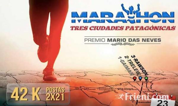 42k Maraton Tres Ciudades Patagonicas