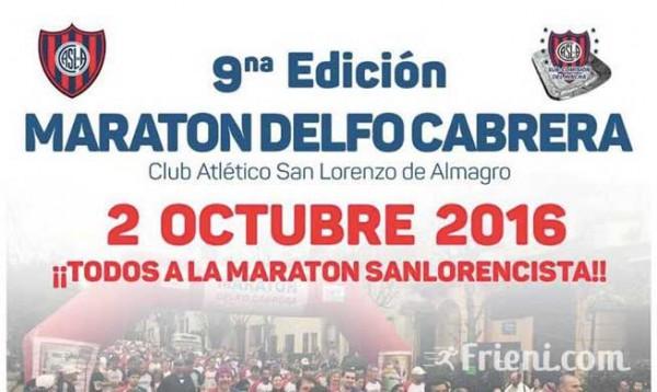 Maratón Delfo Cabrera - Boedo