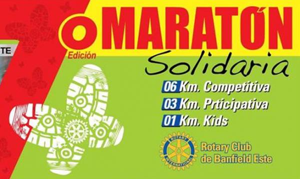Maratón Rotary Banfield Este