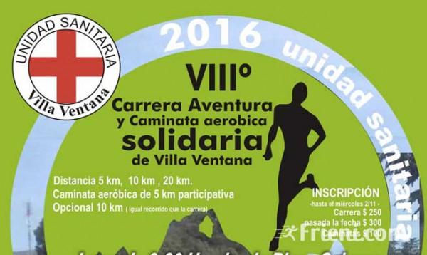 Carrera de Aventura y Caminata Solidaria Villa Ventana