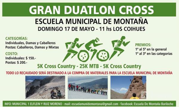 Gran Duatlon Cross - Escuela Municipal De Montaña
