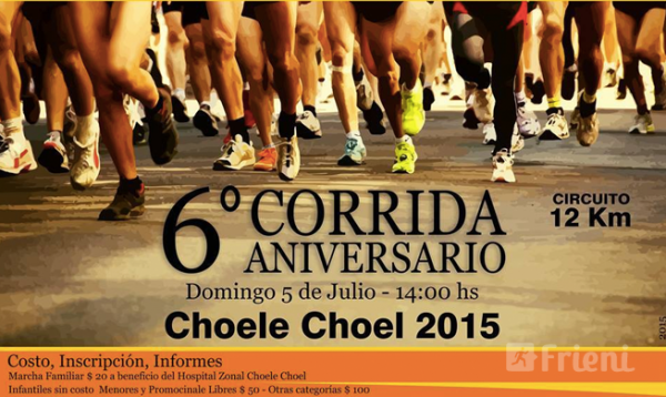 Corrida Aniversario de Choele Choel