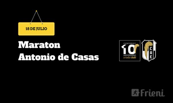 Maratón Antonio de Casas