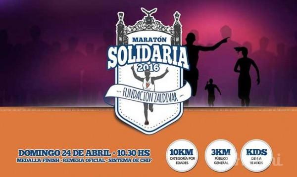 Maratón Solidaria Fundación Zaldivar