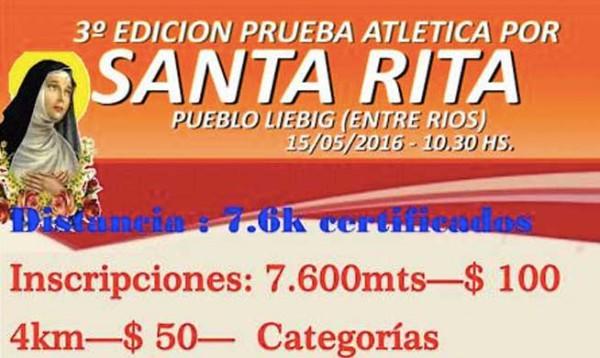 Prueba Atlética Por Santa Rita