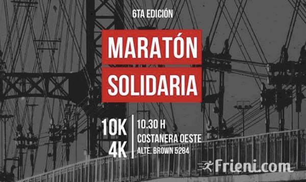 Maraton Solidaria Manos Abiertas