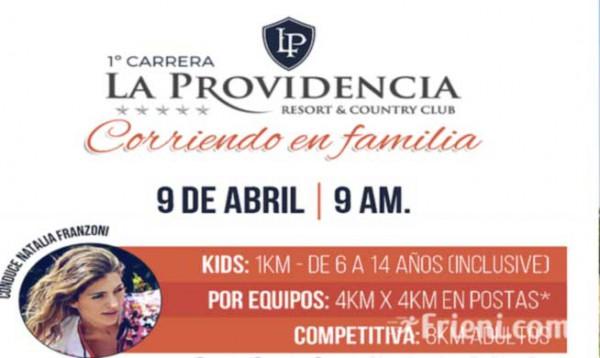 Carrera La Providencia - Corriendo en Familia