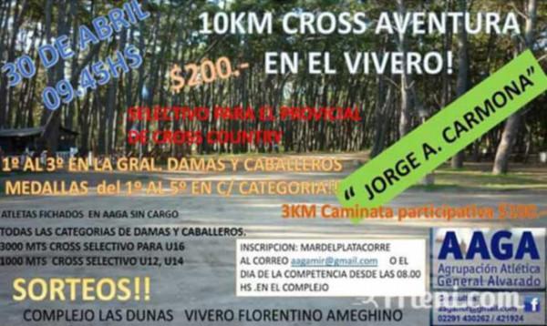 Cross Aventura Jorge Andrés Carmona