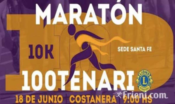 Maratón Centenario Club de Leones Santa Fé