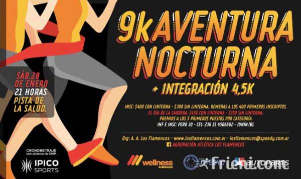 9k Aventura Nocturna Ciudad de Junín