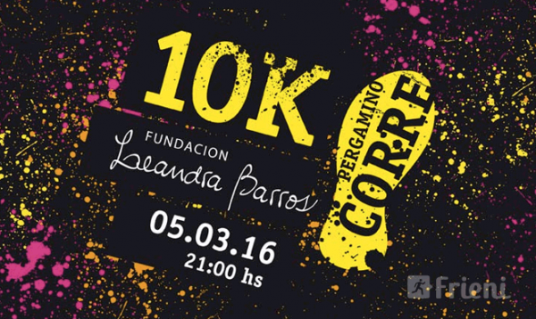 Maratón Nocturno Leandra Barros Pergamino