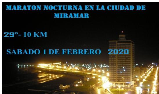 Maraton Nocturna Miramar