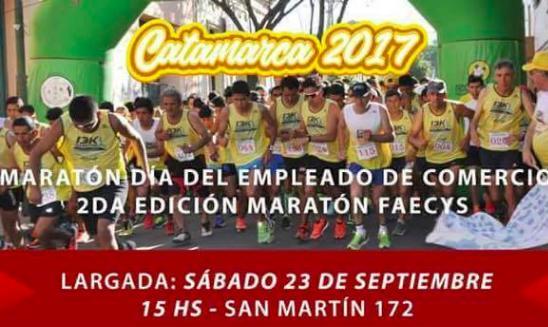 Maratón y Marcha Atlética Día del Empleado de Comercio