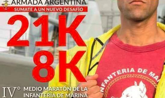 Media Maraton Infantería de Marina