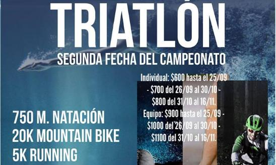 Triatlón MTB San Antonio de Areco
