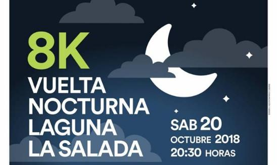 8k Vuelta Nocturna Laguna La Salada