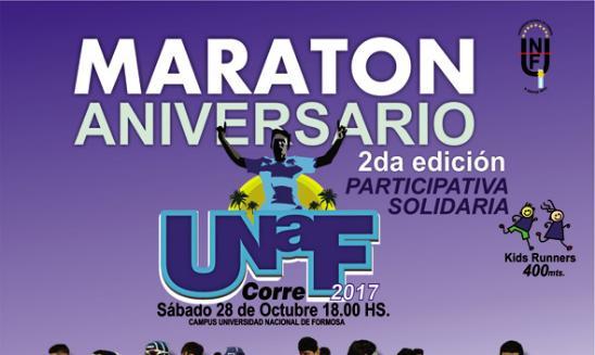 Maratón Aniversario UNAF Corre