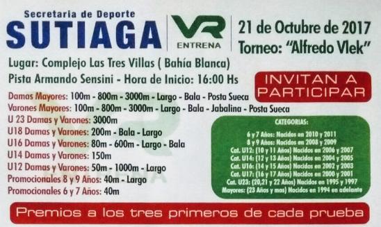 Torneo Alfredo Vlek Bahia Blanca