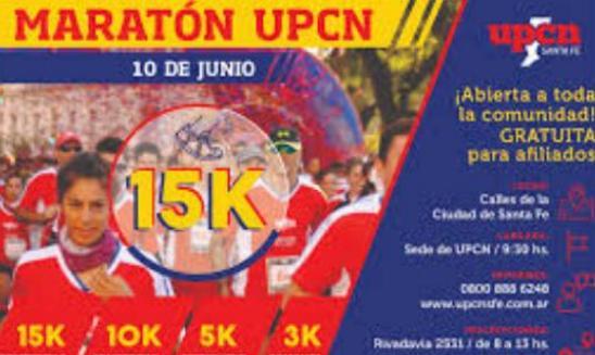 Maratón Dia Del Trabajador UPCN