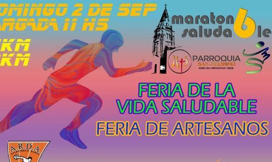 Maraton Saludable Parroquia San Jeronimo