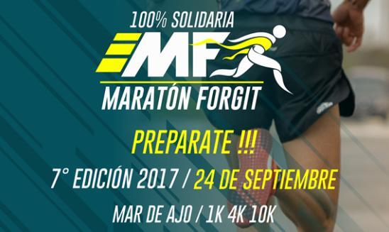 Maratón Solidaria Mariano Forgit