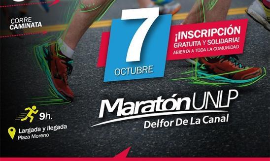 Maratón UNLP Delfor de la Canal