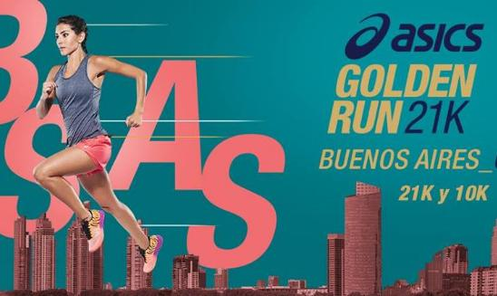 ASICS Golden Run Half Marathon Buenos Aires
