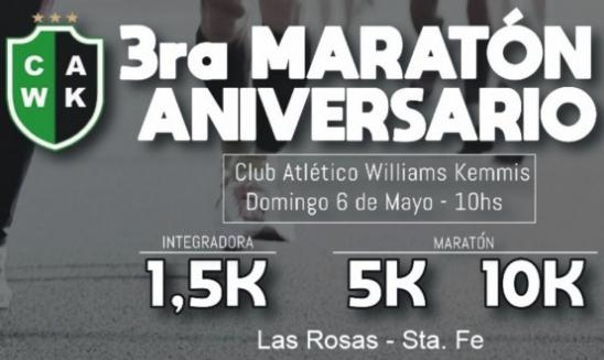 Maratón Club Williams Kemmis