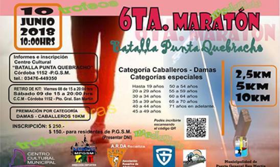 Maratón Batalla Punta Quebracho