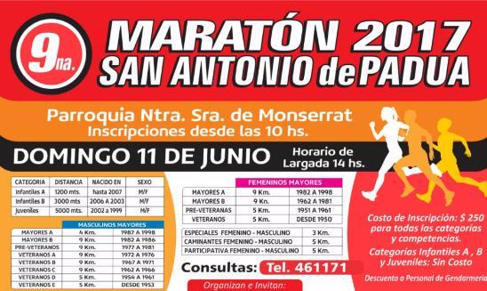 Maratón San Antonio de Padua