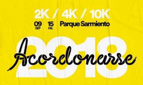 Maraton Solidaria Acordonarse APEX