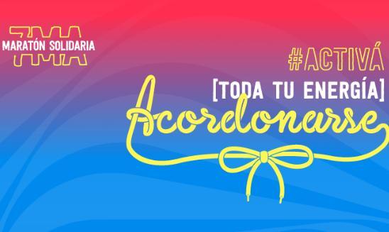 Maratón Solidaria Acordonarse APEX