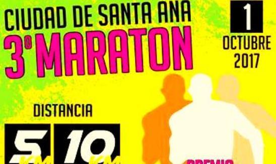 Maratón Ciudad de Santa Ana