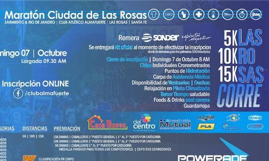 Maratón Ciudad de Las Rosas