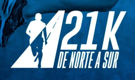 21k De Norte a Sur
