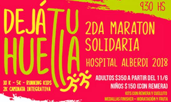 Maratón Solidaria Hospital Alberdi