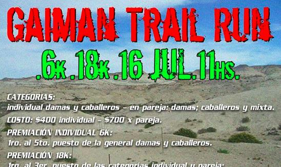 Gaiman Trail Run