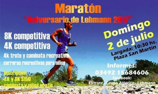 Maraton Aniversario Lehmann