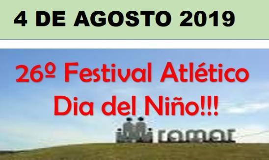 Festival Atletico Dia del Nino