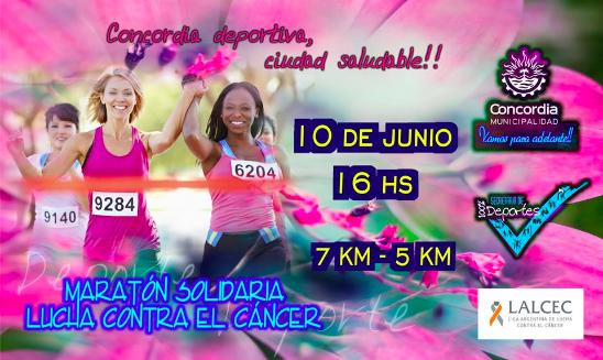 Maratón Solidaria Lucha Contra El Cancer