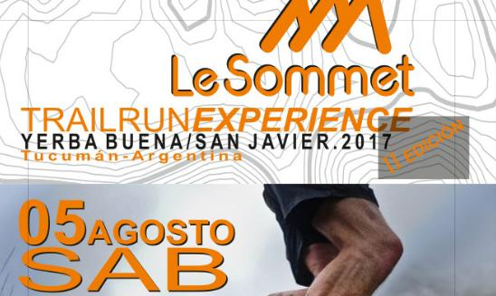 Trail Run Experience Le Sommet