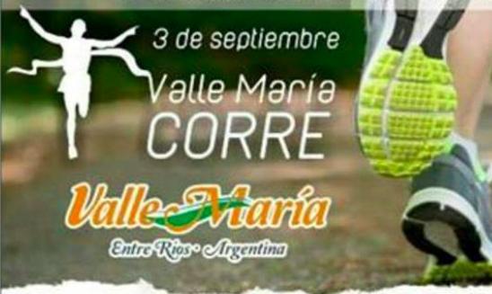Carrera Valle Maria Corre