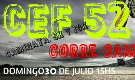 Corre Caminata CEF 52 General Villegas