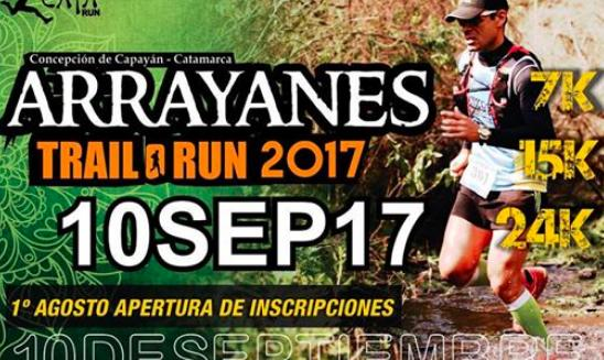 Arrayanes Trail Run