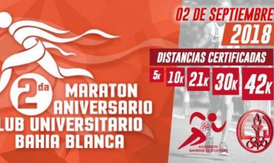 Maratón Aniversario Club Universitario Bahia Blanca