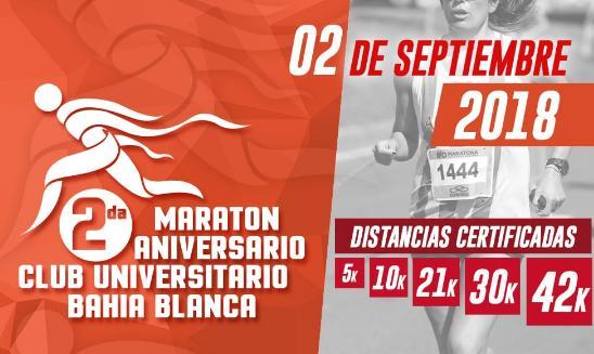 Maraton Aniversario Club Universitario Bahia Blanca