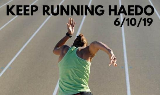 Keep Running Haedo