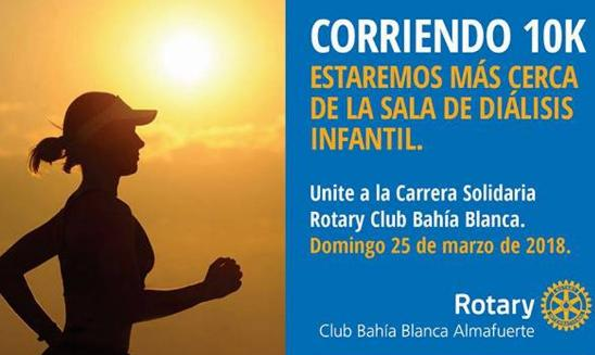 Carrera Solidaria Rotary Bahía Blanca