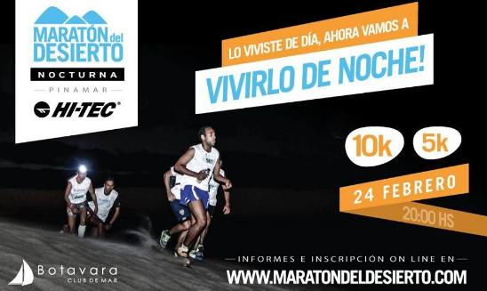 Maratón del Desierto HiTEC Nocturna