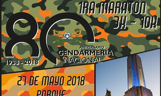 Maraton Aniversario Gendarmeria Nacional Rosario